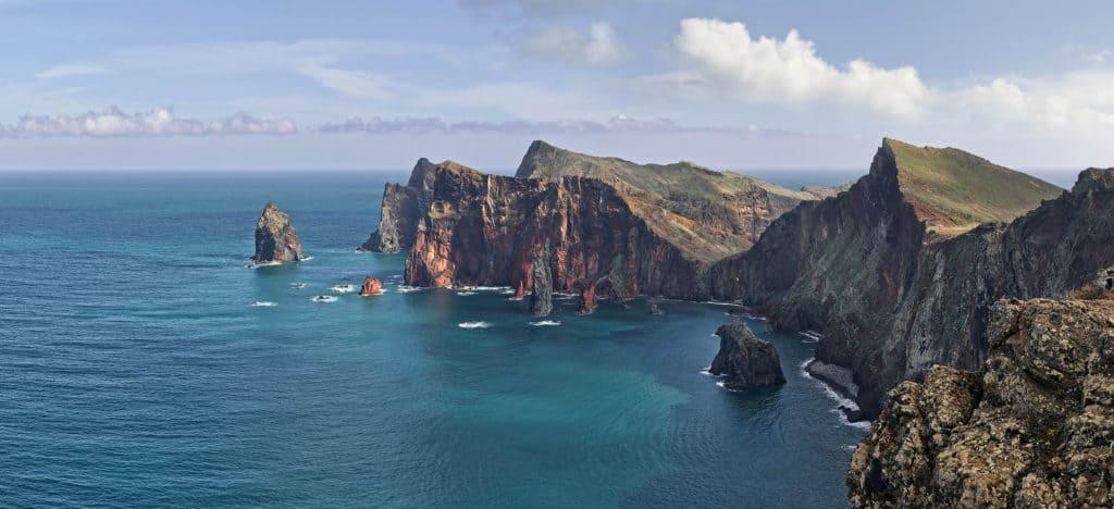 Ponta de São Lourenço, Madeira, Portugal. Blickrichtung Nord Nord Ost.
