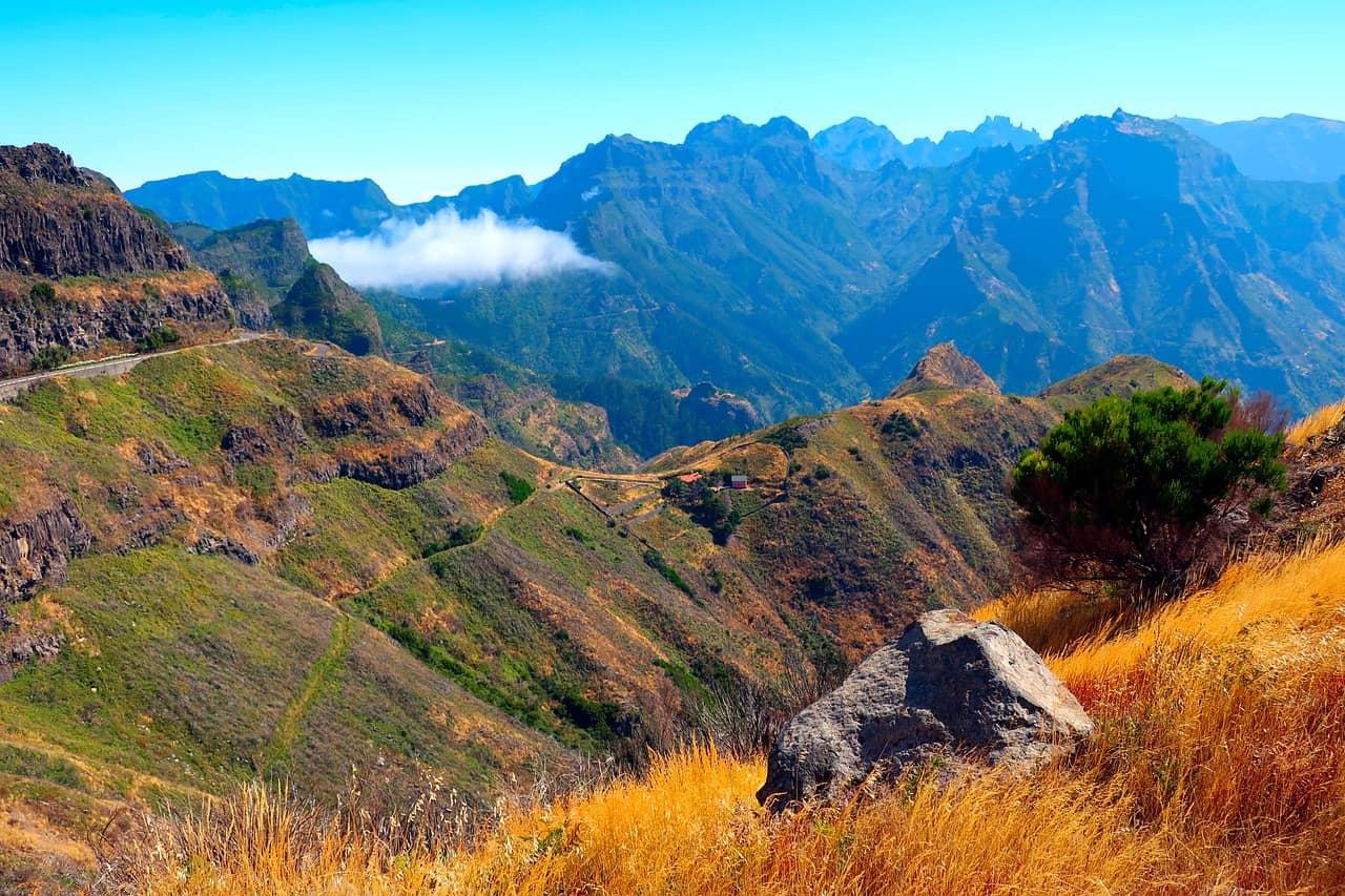 Gebirge Madeira