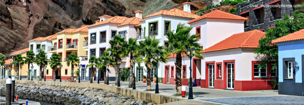 Madeira Häuser