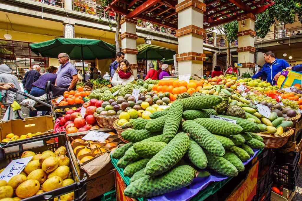 Markt in Madeira